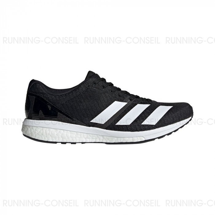 Chaussure de running Adidas Adizero Boston 8 Homme NoireBlanc