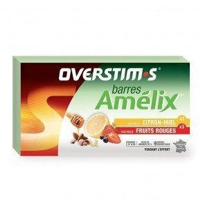 Amelix assortiment Overstim's - Barres énergétiques