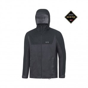 GORE® R3 GORE-TEX ACTIVE VESTE À CAPUCHE HOMME | TERRA GREY/BLACK | Collection Printemps-Été 2019