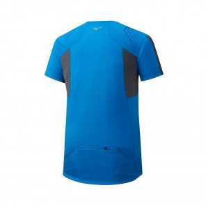 MIZUNO Tee-Shirt Trail manches courtes ENDURA TRAIL HZ Homme | Brillant Blue