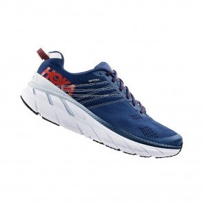 HOKA CLIFTON WIDE 6 Homme | Ensign Blue / Plein Air