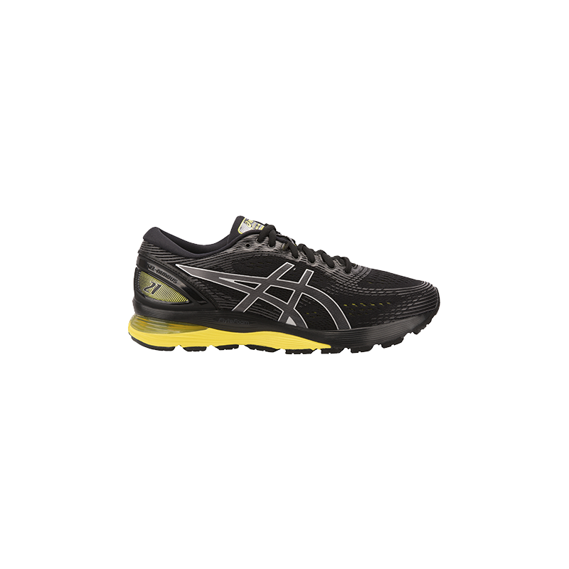 ASICS GEL-NIMBUS 21 HOMME | BLACK / LEMON SPARK